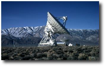 VLBA Antenna at Owens Valley