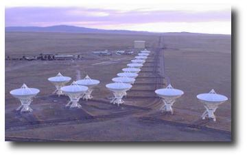 The VLA, near Socorro, New Mexico
